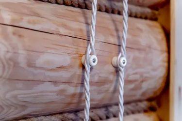 Провод для открытой проводки на изоляторах