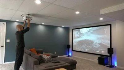 Что нужно для проектора дома?