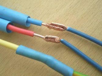 Как соединить медные провода разного сечения?