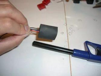 Как сделать термоусадку своими руками?
