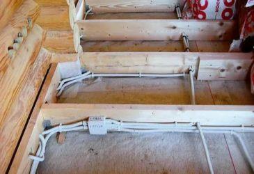 Как прокладывать проводку в деревянном доме?