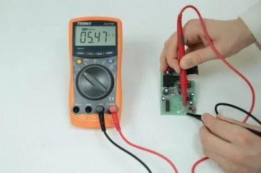 Как измерить ток светодиода мультиметром?