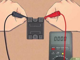 Как проверить 5 контактное реле мультиметром?