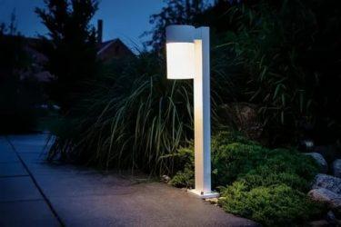 Оригинальные дизайнерские светильники столбики для дорожек
