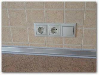 Как опустить выключатель ниже по стене?