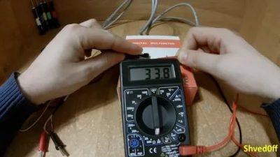 Как прозвонить провод без тестера?