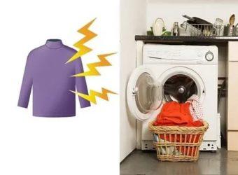 Как снять статическое электричество с одежды?