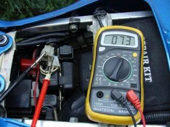 Как померить обороты двигателя мультиметром?